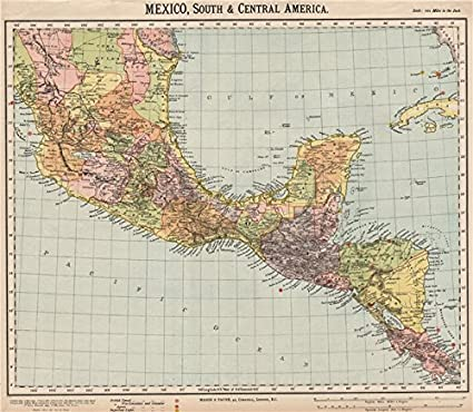 Amazon.com: SOUTHERN MEXICO & CENTRAL AMERICA. Lighthouses ...