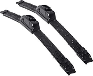 "OEM QUALITY 22"" + 22"" Premium All-Seasons Durable Stable And Quiet Windshield Wiper Blades(Set of 2)"