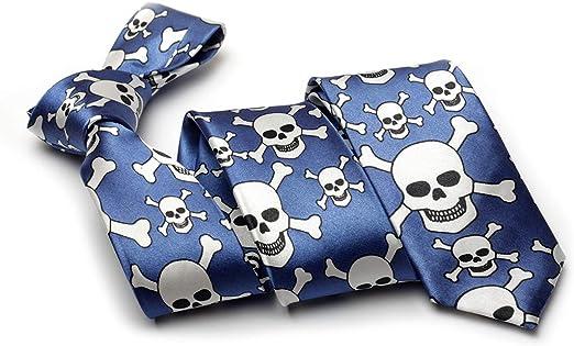 Cravate tête de mort 8