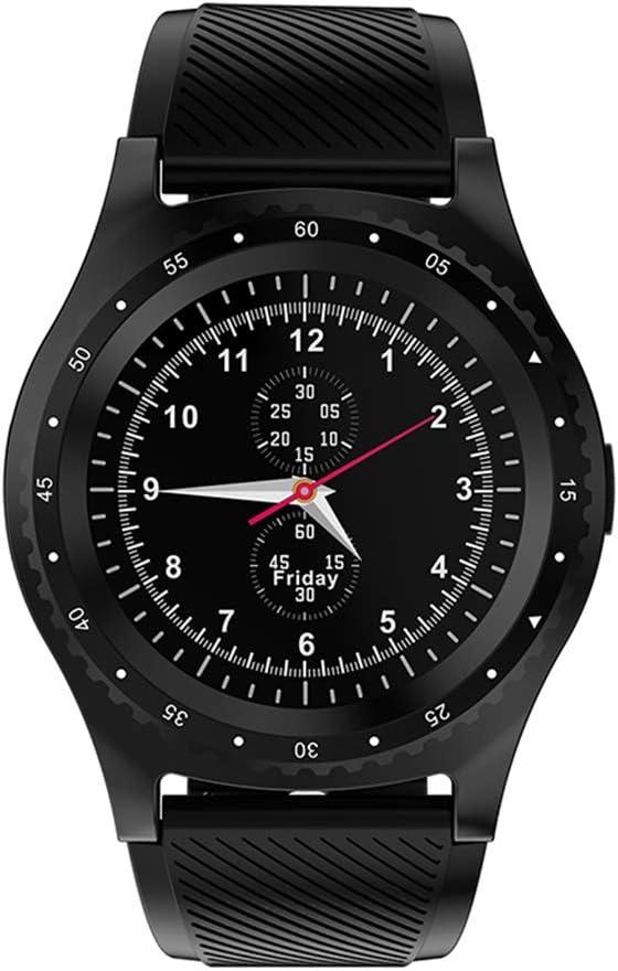LCDIEB Reloj Deportivo Reloj Inteligente con cámara Bluetooth Reloj Deportivo Reloj podómetro Monitor de Fitness Soporte para Tarjeta SIM Smartwatch