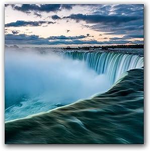 Niagara Falls Natural Wall Art Poster Canvas Prints Home Decor 24×24inch(60×60cm)