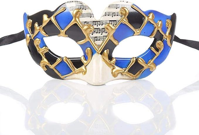 ZPYHJS mascaras venecianas Mujer,Máscaras de Disfraces para ...