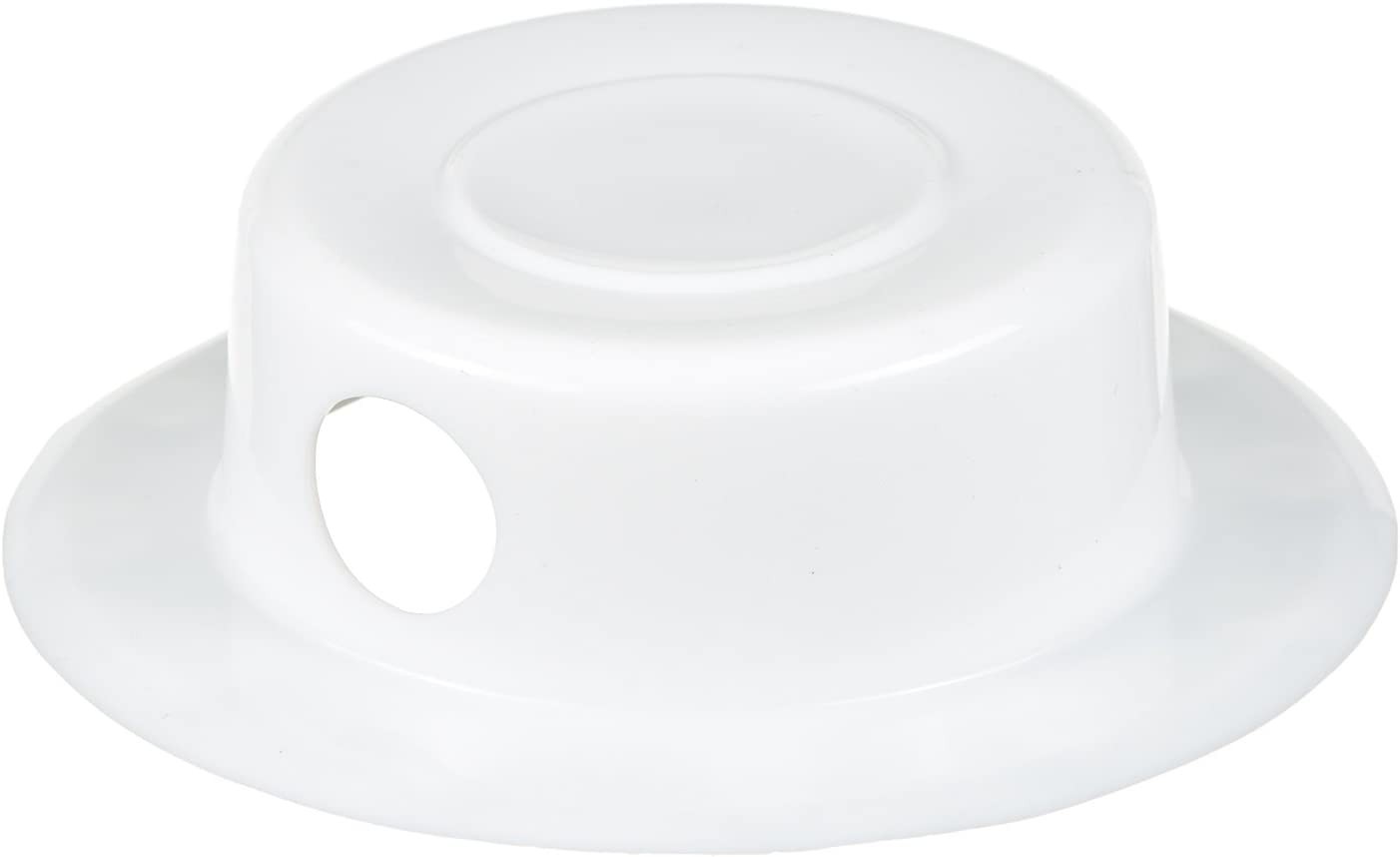 4 Diameter B.N.D TOP Bathtub Overflow Drain Cover Bath Drain Stoppers Spa Like More Inches of Water to Tub for Relax Deep Bath 100/% Recyclable White silicone