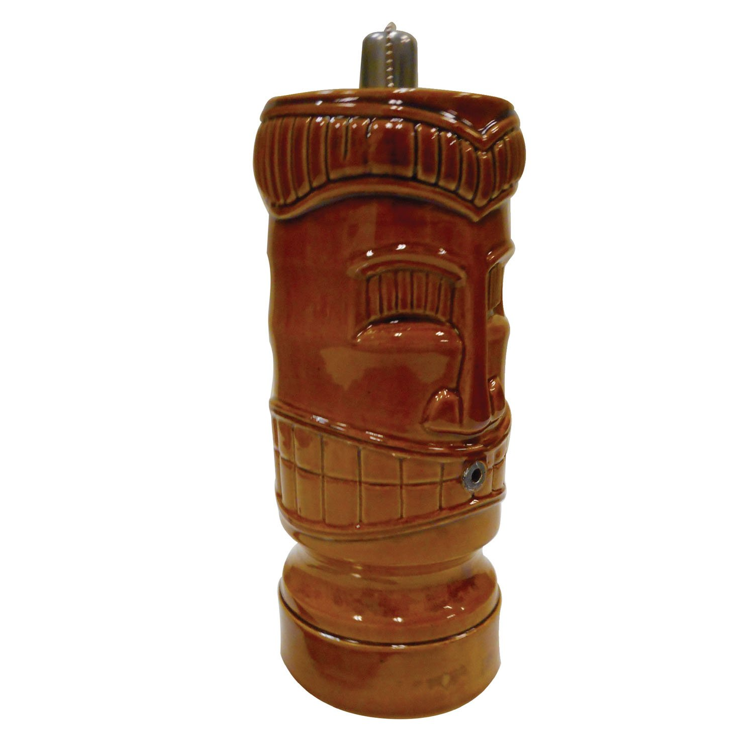 POND BOSS STIKIH Ceramic Tiki Torch Spitter, Honey by POND BOSS