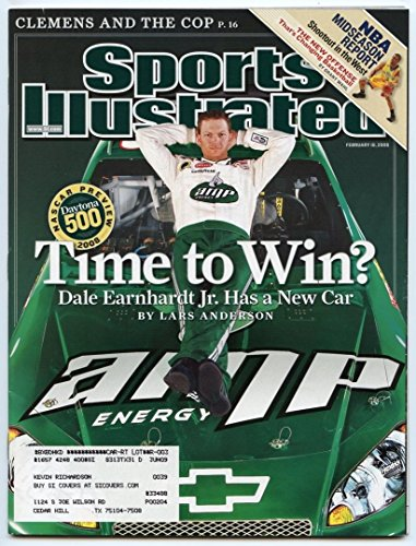 SI: Sports Illustrated February 18, 2008 Time to Win?: Dale Earnhardt Jr., G (Illustrated Auto Sports)