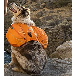 RUFFWEAR 2017 APPROACH DOG PET BACKPACK ♦ ADJUSTABLE EVERYDAY HIKING CAMPING PACK ♦ ALL SIZES AND COLORS (Medium, Orange Poppy)