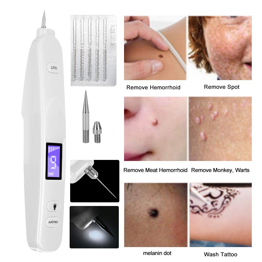 Mole Eliminar máquina Tatuaje Peca Eliminación de pecas Pluma de 6 ...