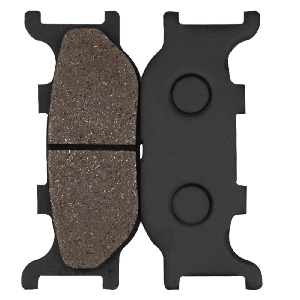 Cyleto Front Brake Pads for YAMAHA XVS1300 V-Star 1300 tourer 2007-2014 XVS1300A Midnight Star 2007-2016 XVS 1300 Vstar Deluxe 2013 2014