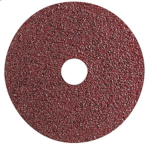 Maroon 0.875 Width Paper Backing Gemtex Abrasives 20270300 Premium Resin Fiber Disc 7 Aluminum Oxide Heavy Duty A Grit Pack of 25
