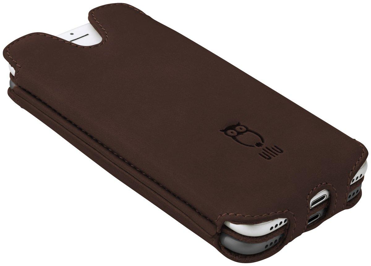 ullu Sleeve for iPhone 8 Plus/ 7 Plus - Oldie Brown UDUO7PPL16 by ullu (Image #2)