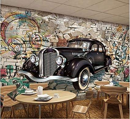 Hhcyy carta da parati Space Stone Music Car Wallpaper Mural ...