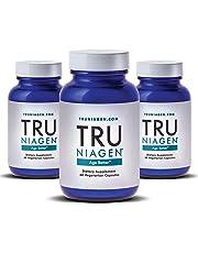 TRU NIAGEN Nicotinamide Riboside - Patented NAD Booster for Cellular Repair & Energy, Vitamin B3 Niacin NMN, 125mg Vegetarian Capsules, 250mg Per Serving, 30 Day Bottle - (Pack of 3)
