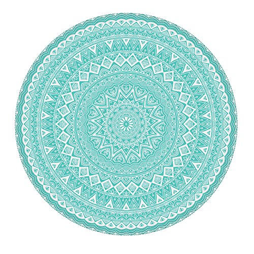 Teal Circle - 1