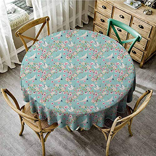 - Rank-T Round Tablecloth and placemats 60