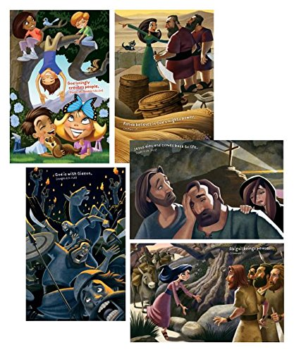 Bible Story Posters (Set of 5) (Group Easy Vbs -