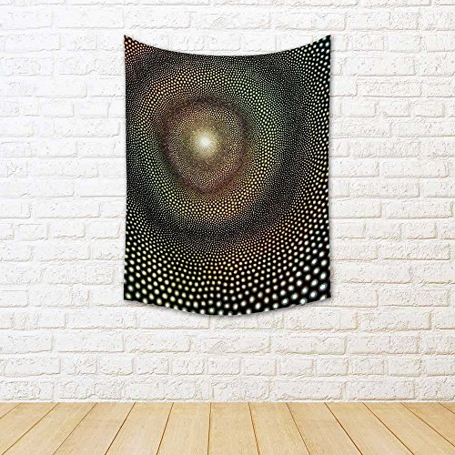 - ArtzFolio Abstract Picture Named Impulse Satin Tapestry Wall Hanging 21.2 X 28.6Inch