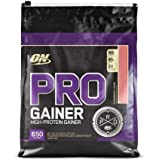 Optimum Nutrition Pro Gainer Protein Powder, Strawberry Cream, 10.19 Pounds