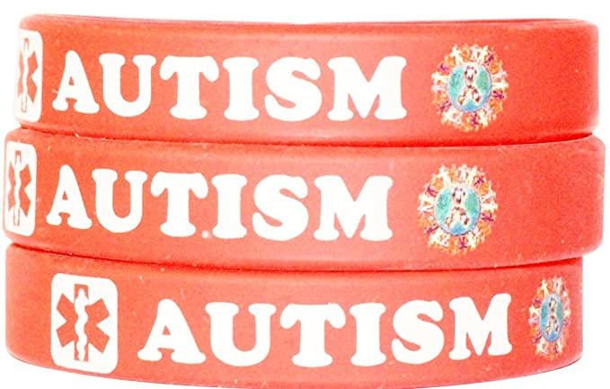 fedex free express autistic shipping by item medical bracelets be please alert wristband patient bracelet dhl silicone