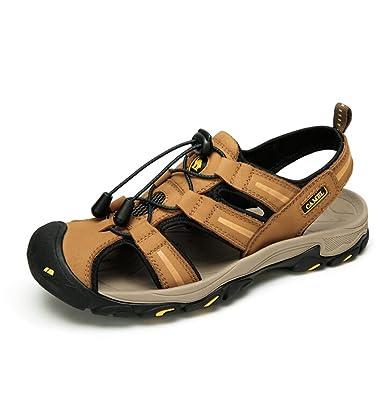 Camel Men s RV Performance Closed Toe Sandal Color Yellow Size 42 ... 3b3e94f2f7