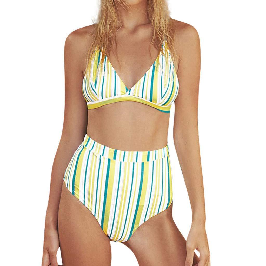 8a3d32c115 Amazon.com: Women's Swimsuits Swimwear Bathing Suit Women Swimwear Beachwear  Bikini Women: Clothing