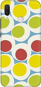 Stylizedd Huawei Nova 3i (P Smart+) Slim Snap Basic Case Cover Matte Finish - 70's Bubbble