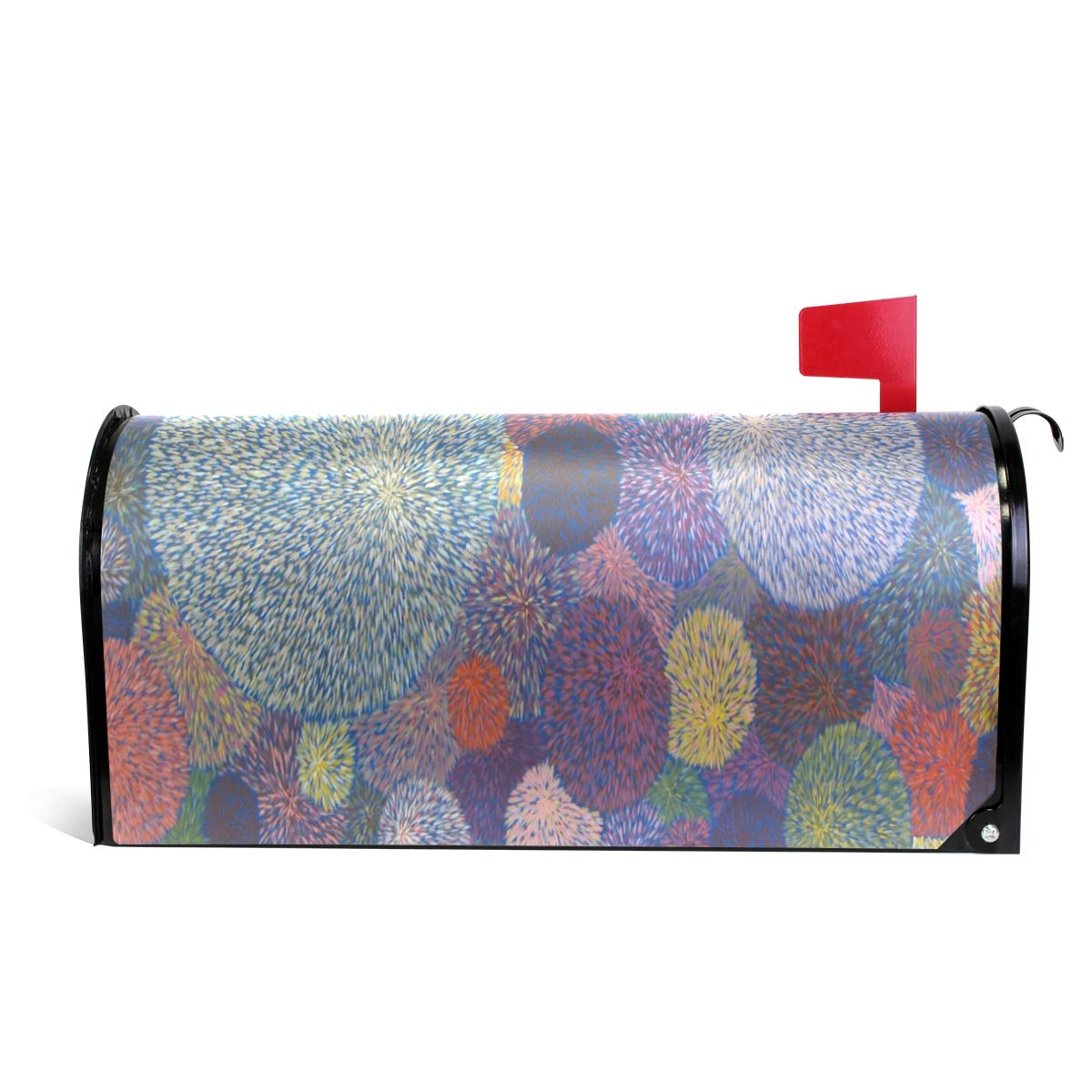 DJROW The Light Pip Hoy Magnetic Mailbox Cover Decorative Mailbox Wrap for Standard Size 64.7x52.8cm