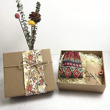 Caja vacía simple Rectangular Pequeño regalo de cumpleaños ...