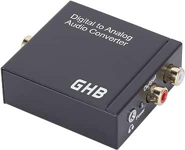 GHB Conversor Audio Digital a Analogico: Amazon.es