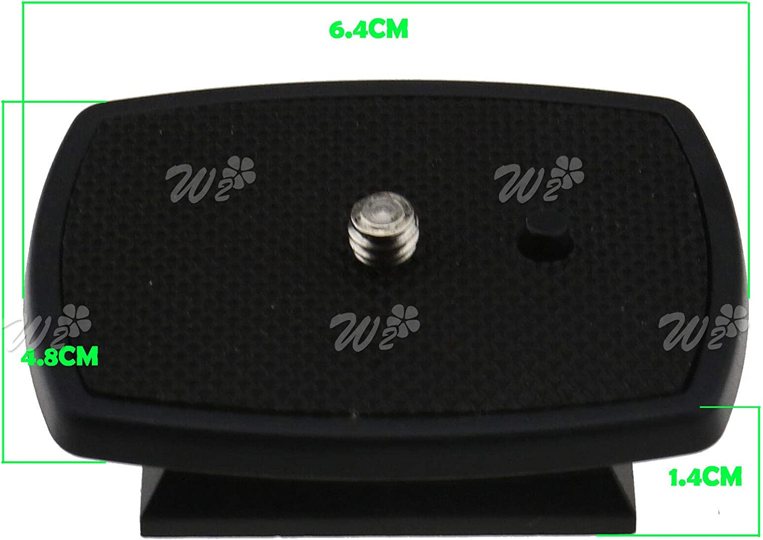 Quick Release Clamp Adapter QR Plate for Weifeng Tripod