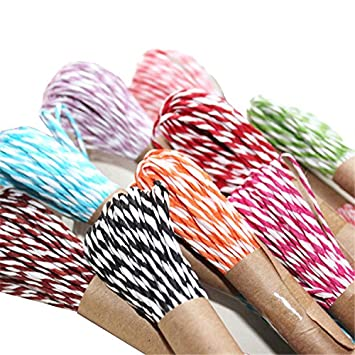 Amazon Com Newbested 12 Colors Raffia Stripes Paper String For Diy