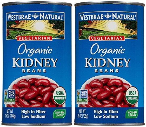 Westbrae Organic Kidney Beans-25 Oz-2 Pack