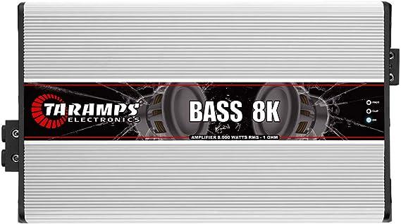 Taramps BASS 8K 1 Ohm 8000 Watts Class D Mono Amplifier