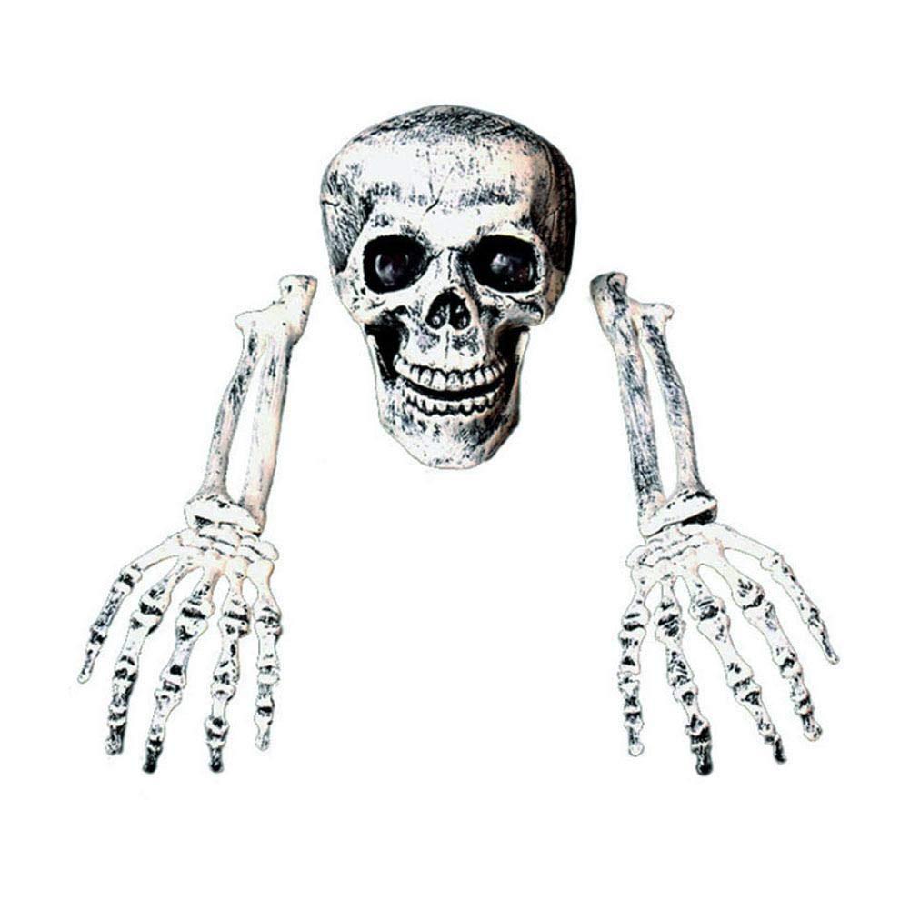 Eayse Prop Esqueleto Halloween Embrujado con Brazos 2019 Familias Sylvanian De Halloween Terror De Halloween Para Decoraciones De C/ésped De Jard/ín 18x14 Cm beautifully handsomely