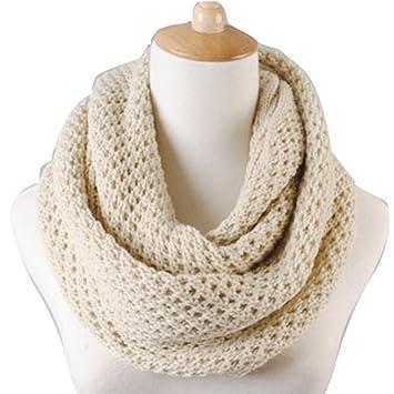 Amazon.com: NSSTAR - Bufanda de invierno cálida para tejer ...