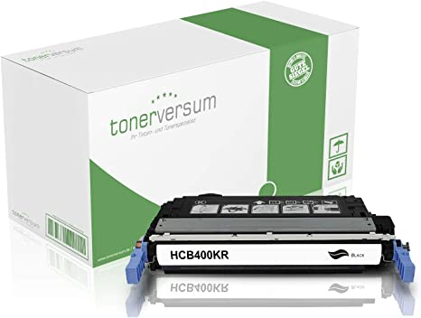 Cartucho de tóner Compatible con HP CB400A 642A Negro para ...