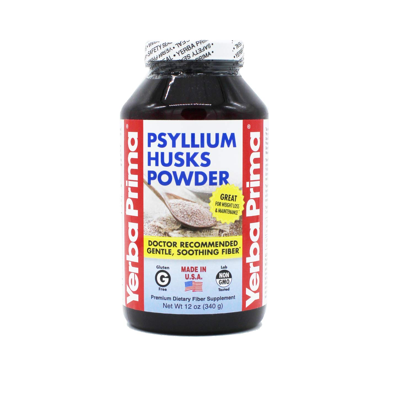 Amazoncom Yerba Prima Yerba Prima Psyllium Husk Powder 12 Ounce