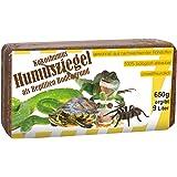 Humusziegel - Kokosmus als Reptilien Bodengrund, 6er Pack (6 x 650 g)