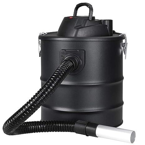 Bakaji aspirador profesional Potencia 1200 W Aspiradora aspira cenizas con función sopladora Filtro Interno Hepa y ...