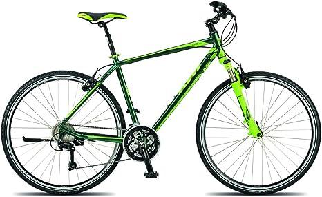 KTM Life Cross HE bicicleta híbrida 2015 mystery verde mate, RH 60 ...