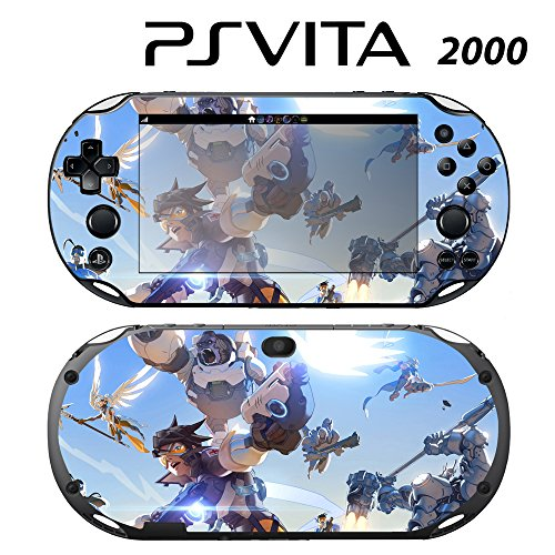 Skin Decal Cover Sticker for Sony PlayStation PS Vita Slim (PCH-2000) - Overwatch -  Decals Plus, PV2-GA45