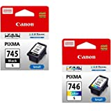 Amazon.in: Buy Canon PG-745 Ink Cartridge (Black) Online ...