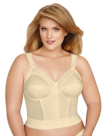 c11b134d6cf6f Exquisite Form Fully Women s Front Close Longline Bra  5107530  Amazon.co.uk   Clothing