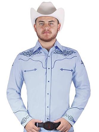 dded3e06c080 El General Camisa Vaquera M/Larga 65% Polyester, 35% Algodón ID ...
