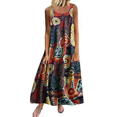 hot sale online 114df 3ee78 Sommerkleider Damen Langes Kleider Große Größen,Frauen Plus ...