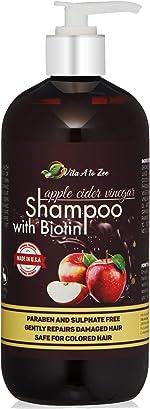 Apple Cider Vinegar & Biotin Shampoo|Hair Thickening & Strengthening Shampoo with