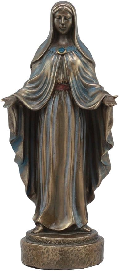 Vintage Madonna Virgin Mary Figurine Jesus Statue blessed Decor