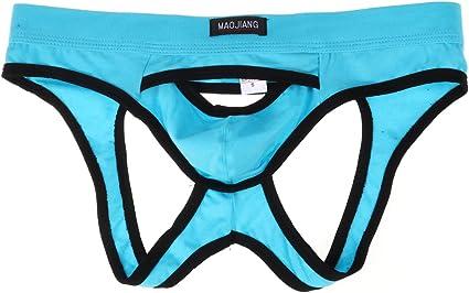 Men/'s Bulge Pouch Thongs Briefs Bikini Backless Underwear Underpants Jockstrap