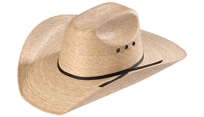 Atwood 4X Low Crown Dark Palm Straw Hat at Amazon Men s Clothing store  d9165a291222