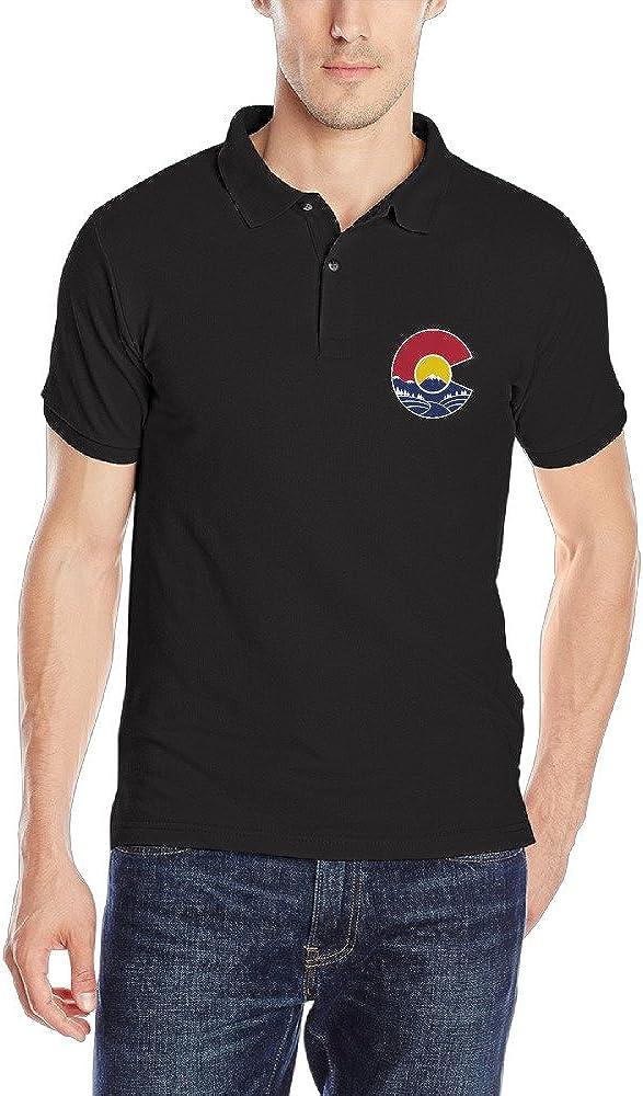 Rocky Mountain Colorado C camisa polo para hombre: Amazon.es: Ropa y accesorios