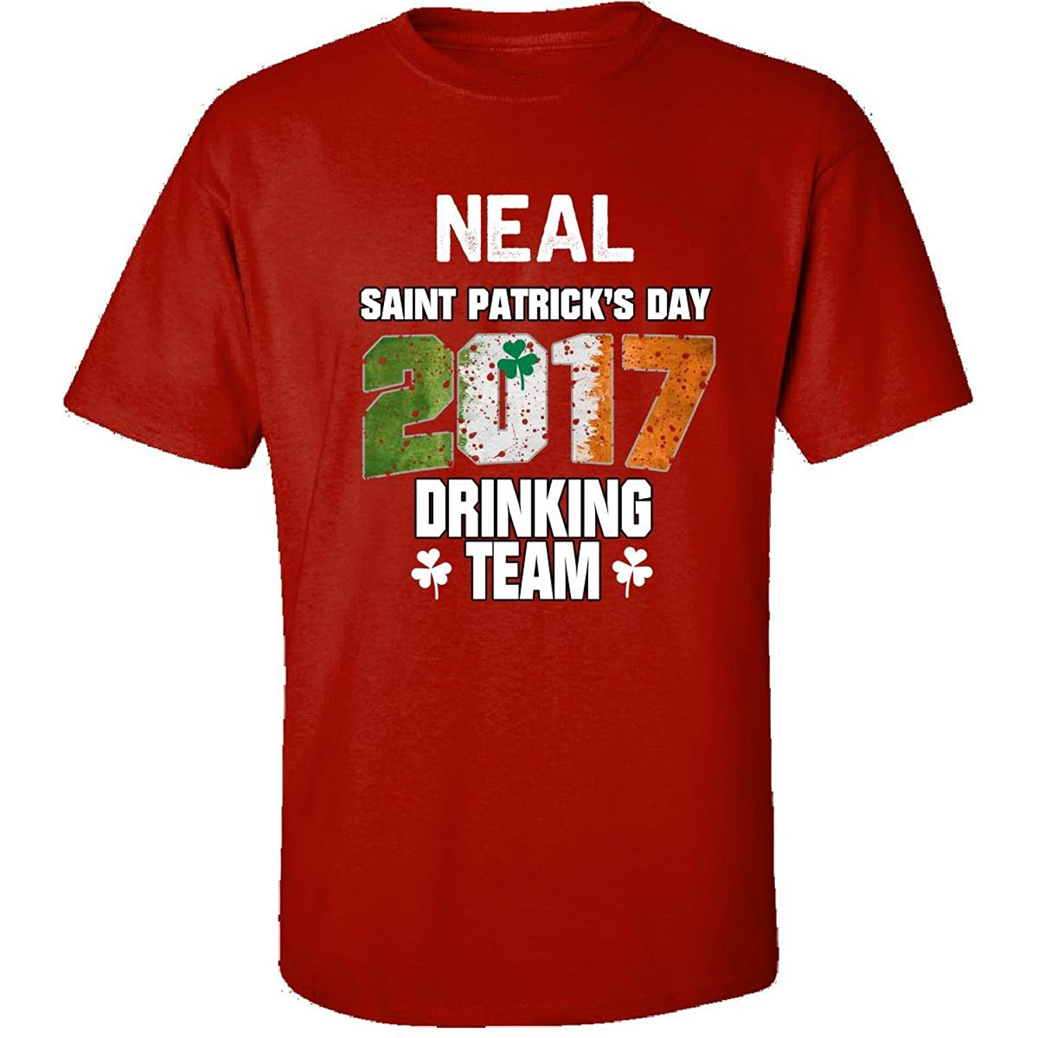 Neal Irish St Patricks Day 2017 Drinking Team - Adult Shirt